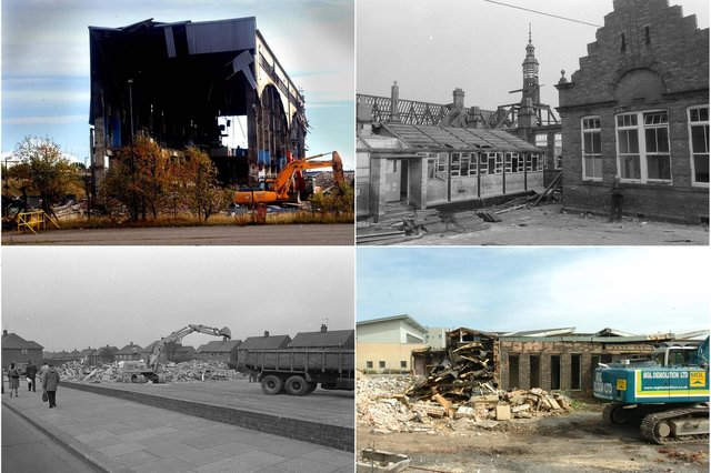 Buildings from Sunderland and East Durham's past. How many would you have loved to stay?