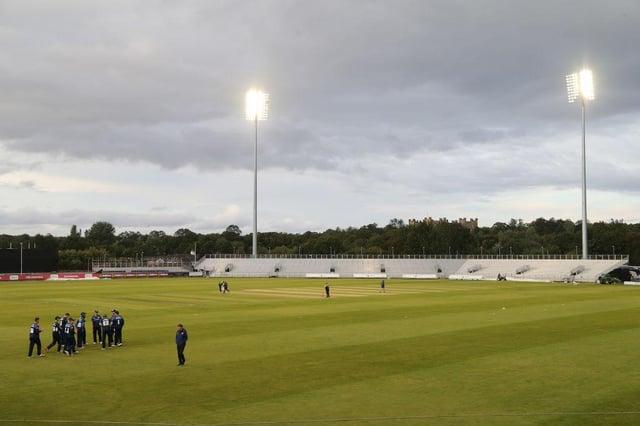 Durham's Emirates Riverside stadium.