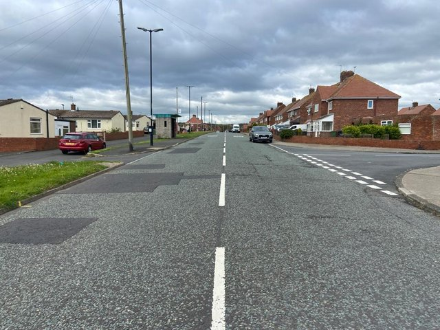 The collision happened in Leechmere View, near Lynthorpe, in Hollycarrside.