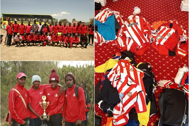 Sunderland AFC Keroche in Kenya which has had wonderful support from the people of Wearside.