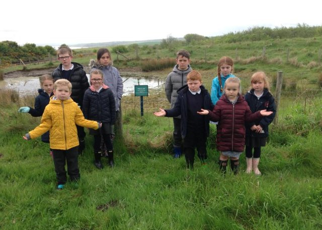 Children from Easington Church of England Primary School have been left saddened by the attacks on the pond their school has adopted.
