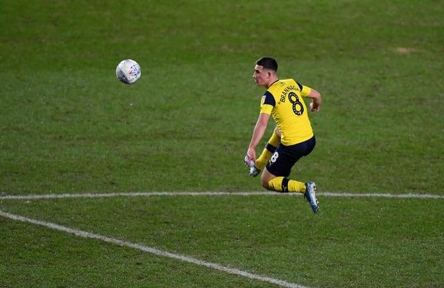 Cameron Brannagan of Oxford United.