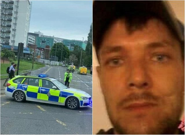 Colin Penman, aged 44, was killed after being hit by a silver Ford Tourneo minibus in Leeds