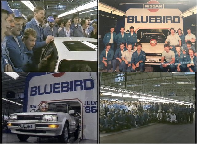 Take a look back at Nissan in the 1980s.