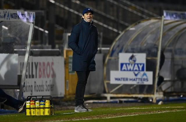 Bristol Rovers boss Joey Barton.