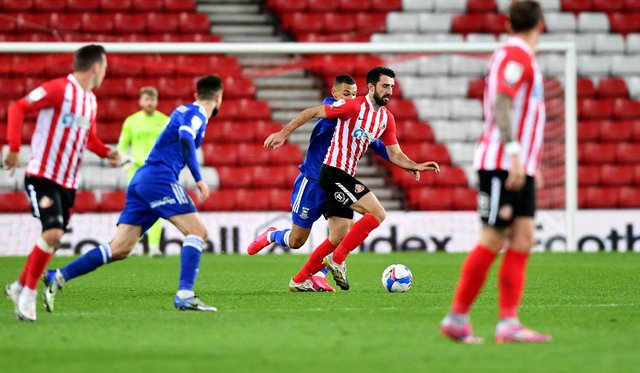 Conor McLaughlin is set to feature again for Sunderland on Sunday