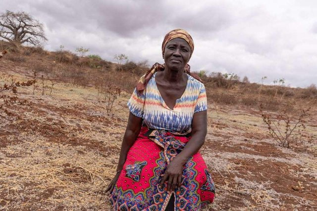 The money raised will help women like Rose Katanu Jonathan, who has to walk miles every day just to collect water.