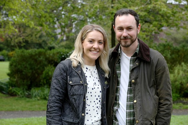 Amy Donaldson and Lee Stephenson are making plans for their wedding as he recovered from a cardiac arrest in March last year.