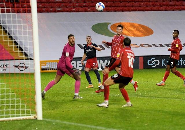 Jack Diamond scoring his first Sunderland goal earlier this season