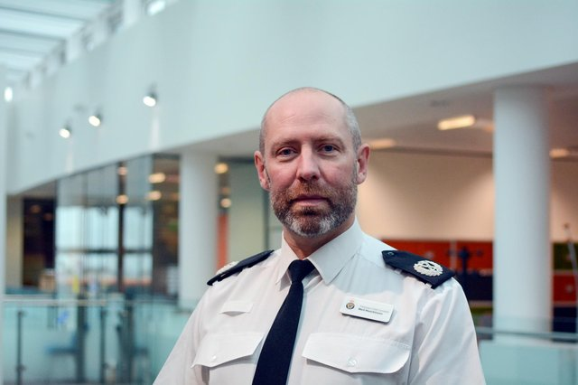 Assistant Chief Constable Neil Hutchison, of Northumbria Police.