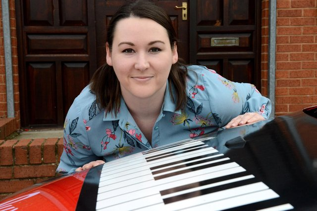 Music teacher Louise Bell of Sweet Symphony.