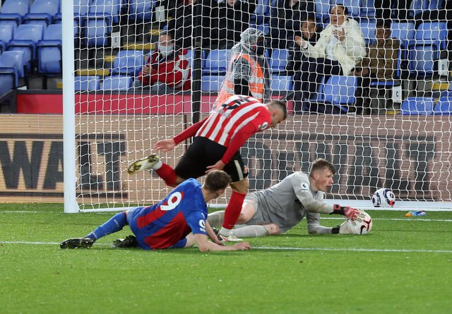 Sunderland U23s in action at Crystal Palace. Picture: Ian Horrocks