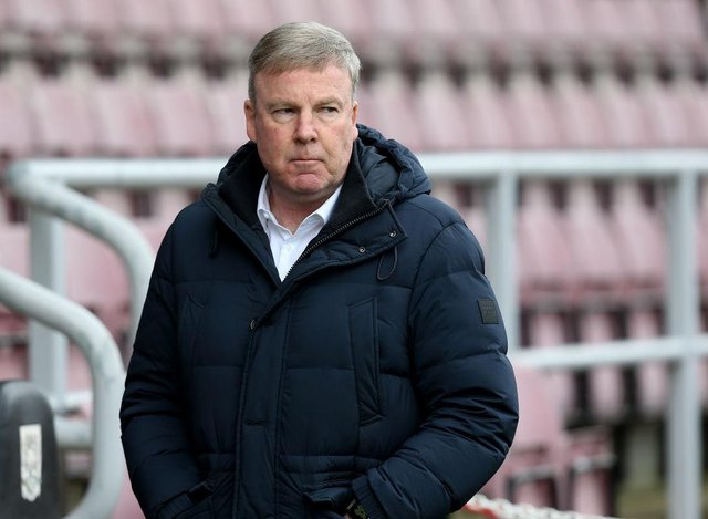 Portsmouth manager Kenny Jackett.