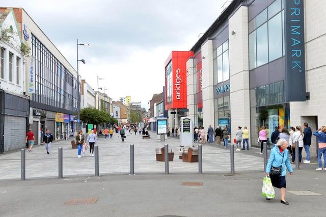 Thorntons has a shop inside the Bridges shopping centre in Sunderland.