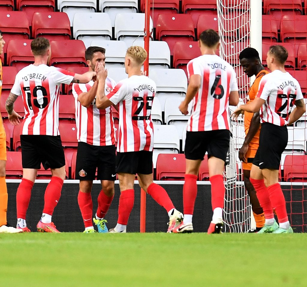 The story of Will Grigg's winner for Sunderland with potential new signing Daniel Jebbison watching on