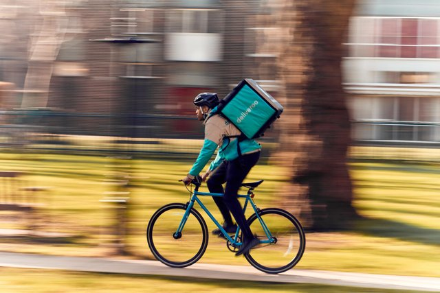 Deliveroo has launched in Washington.  Picture by Mikael Buck / Deliveroo