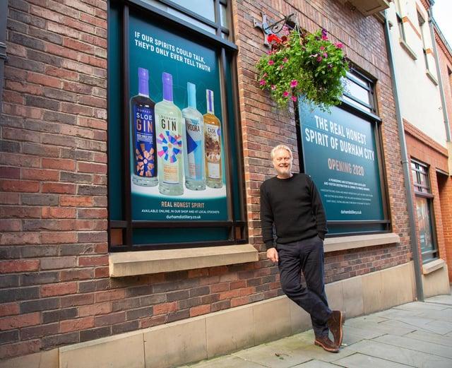 Jon Chadwick of Durham Gin.  Photography by Joshua Lawson, David Lawson Studios