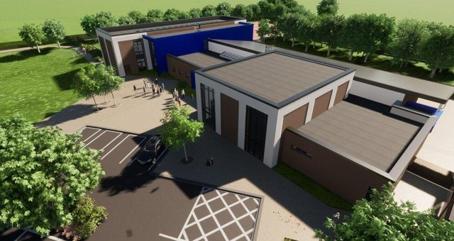 3D presentation images of the new Hetton Primary School. Credit: Sunderland City Council