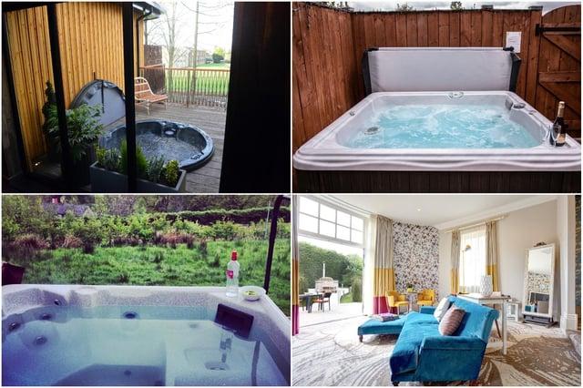 Hot tub staycation ideas