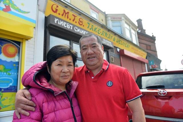 G.M.T.S Chinese takeaway owners Dave and Siu Shek retire after more than 30 years.