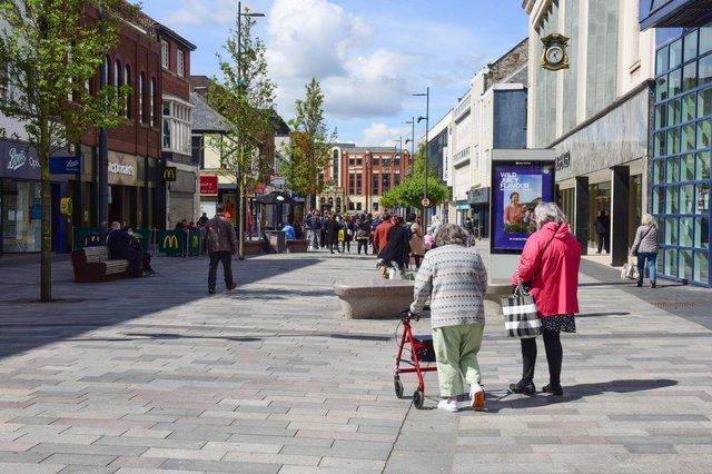 Barriers removed from High Street West, Sunderland.