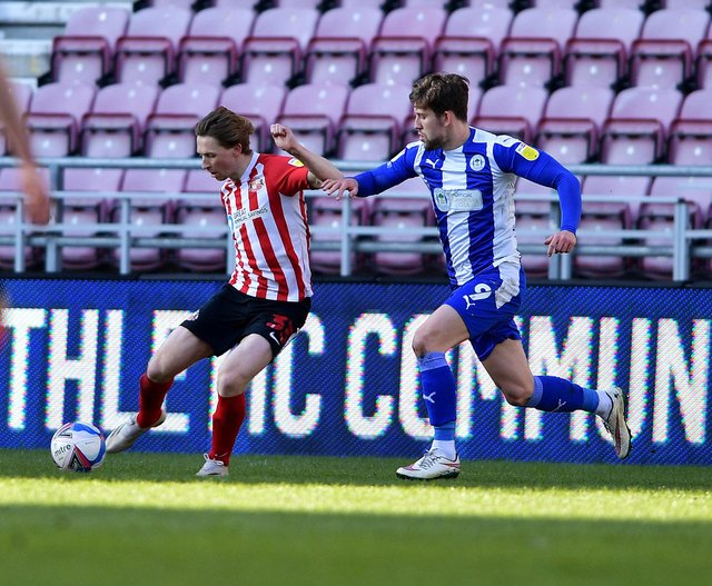 Who impressed for Sunderland at Wigan Athletic?