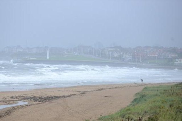 Heavy rain forecast for the North East.