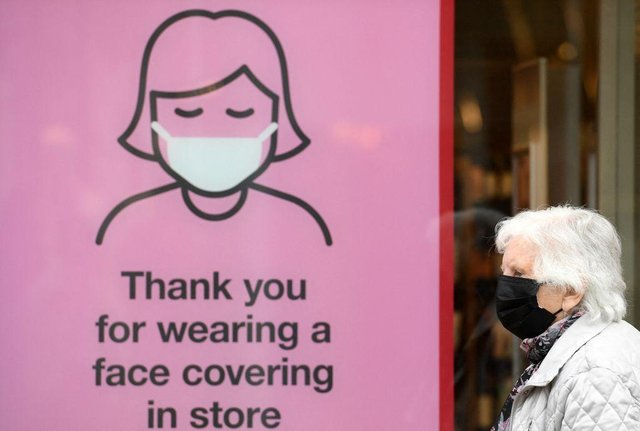 Readers have been sharing their views on the use of face coverings after 'Freedom Day' on July 19. Picture: Oli Scarff /AFP via Getty Images.