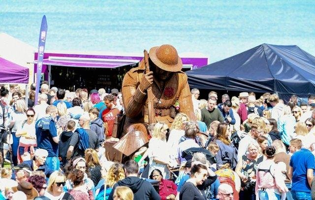Seaham Food Festival in 2019