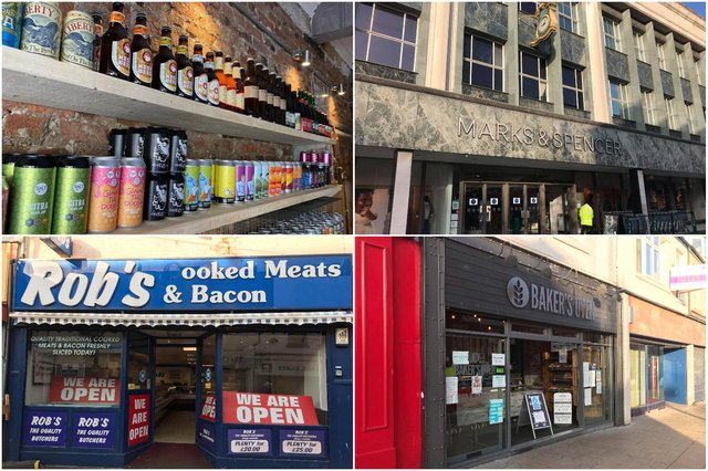 Many city centre shops remain open for business in lockdown 2