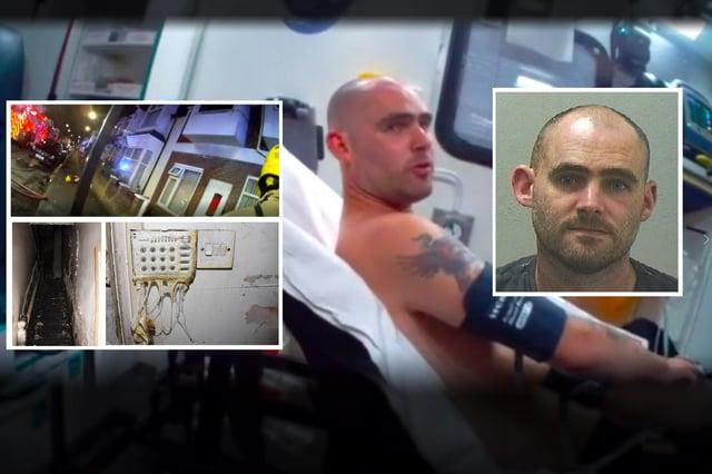 Robert Barnett has been jailed for starting the blaze.