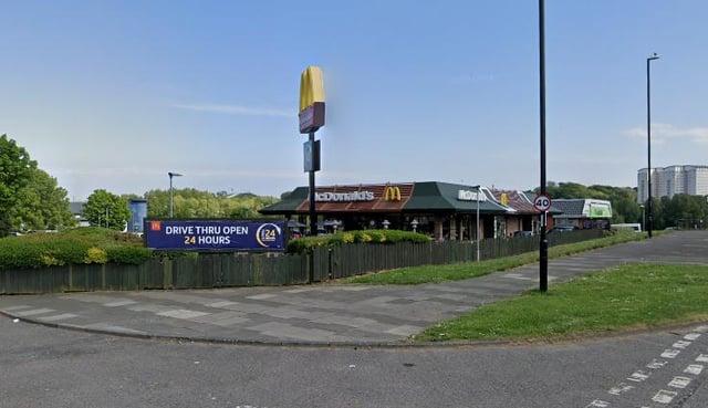 Lauren Liddle, 28, called atthe burger chain's drive-thru at North Moor Lane in Farringdon, Sunderland, at 6.20am.