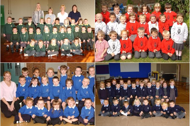 Lots of smiling faces for you to identify. Take a look through our selection of primary school scenes.