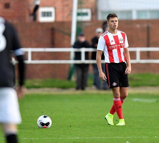 Sunderland youngster Brandon Taylor