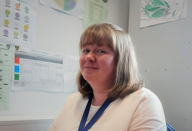 Mrs Bulmer from Hetton School has been nominated for a School Superheroes award.