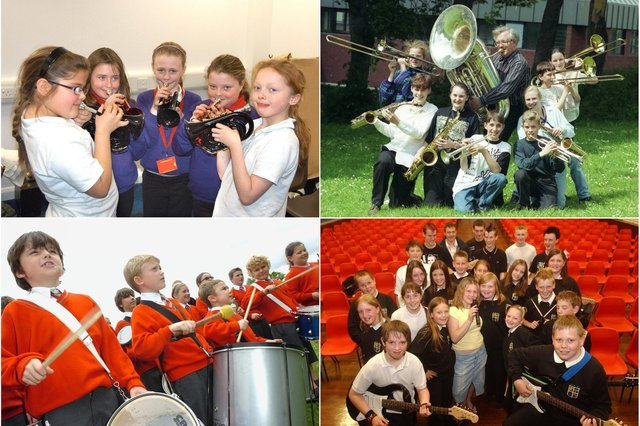 Re-live those school band memories with these Sunderland Echo archive photos.