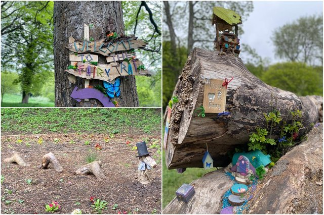 The Fairy Trail at Backhouse Park