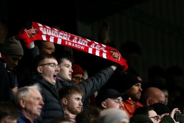 Where do Sunderland AFC rank in the 2019/20 average attendance table?