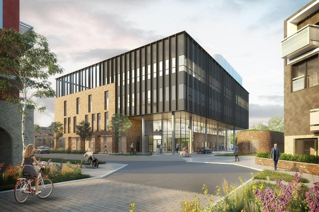 How the new Eye Infirmary will look