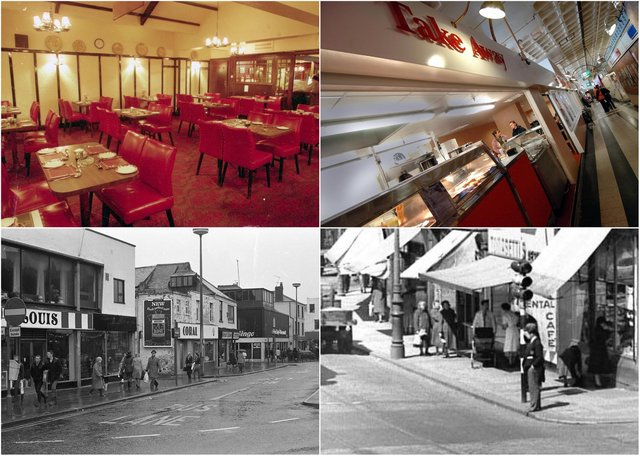 Take a look at the cafes you've loved over the years, plus some more photos we found in the Echo archives.