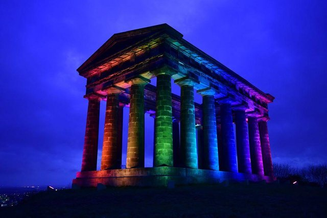 Landmarks across Sunderland are set to be lit up in the colours of the rainbow flag to mark the beginning of national Pride Month. Photo: North News.