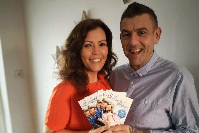 Lisa and Graeme Wharton appear in a national TV advert for Slimming World following their weight loss.