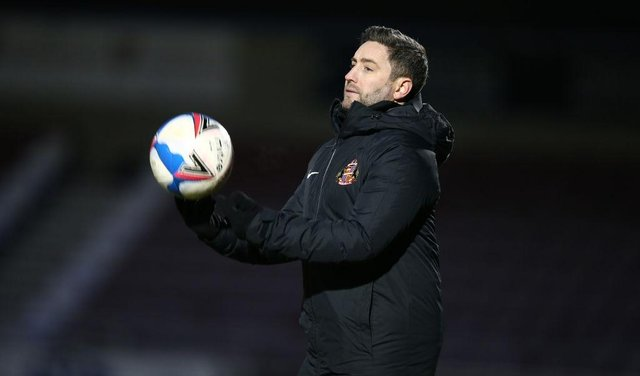 Sunderland manager Lee Johnson. (Photo by Pete Norton/Getty Images)