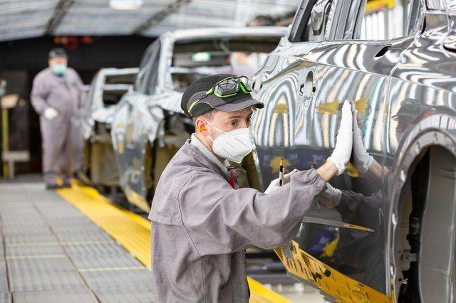 Nissan has furloughed hundreds of staff
