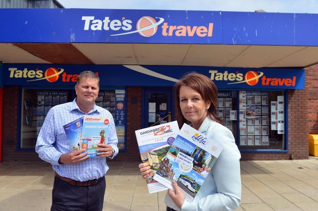 Tate's Travel owners Lee Tate and Lisa Halliday on the current state of the travel industry