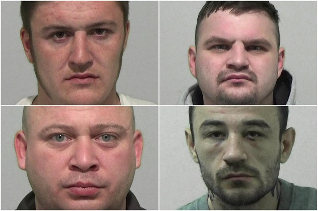 Rogues' gallery of criminals from the Sunderland area jailed in the last month
