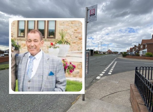Jimmy Peacock from Silksworth who died after a collision with a bus in Sunderland