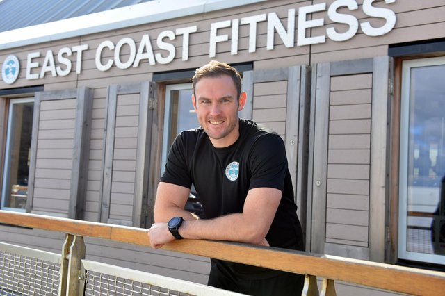 East Coast Fitness Graham Low at Seaham Harbour Marina