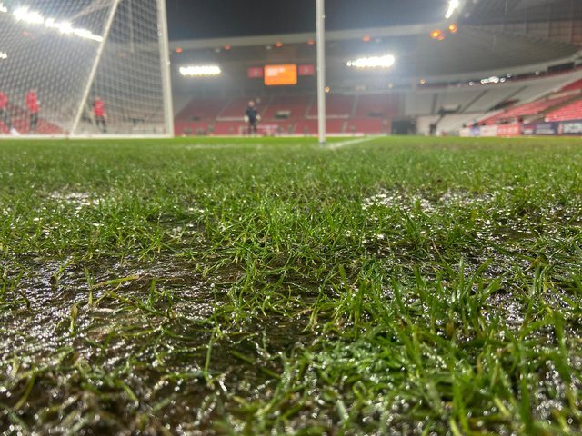 Lee Johnson says pitches across the club need to improve