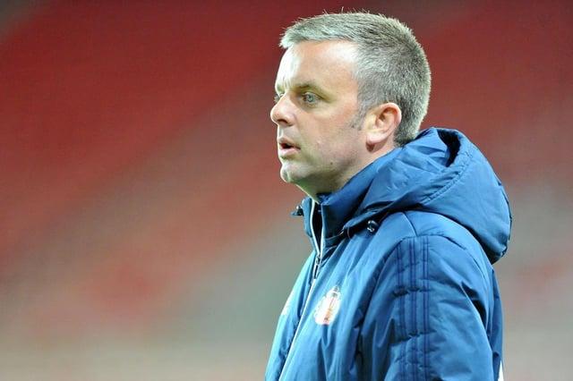 Sunderland Under-23s manager Elliott Dickman.